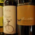 イタリアワインは特にエチケットが華やかに見えます。