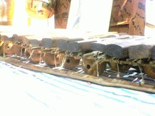 アフリカの木琴