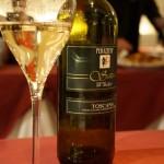 試飲2杯め、トスカーナビアンコ「サラ」2011。